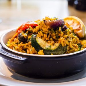 Junior paella