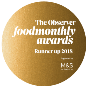 Observer Food Monthly Awards 2018 Runner Up