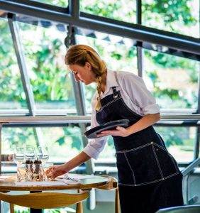 Sustainable dining at Lussmanns