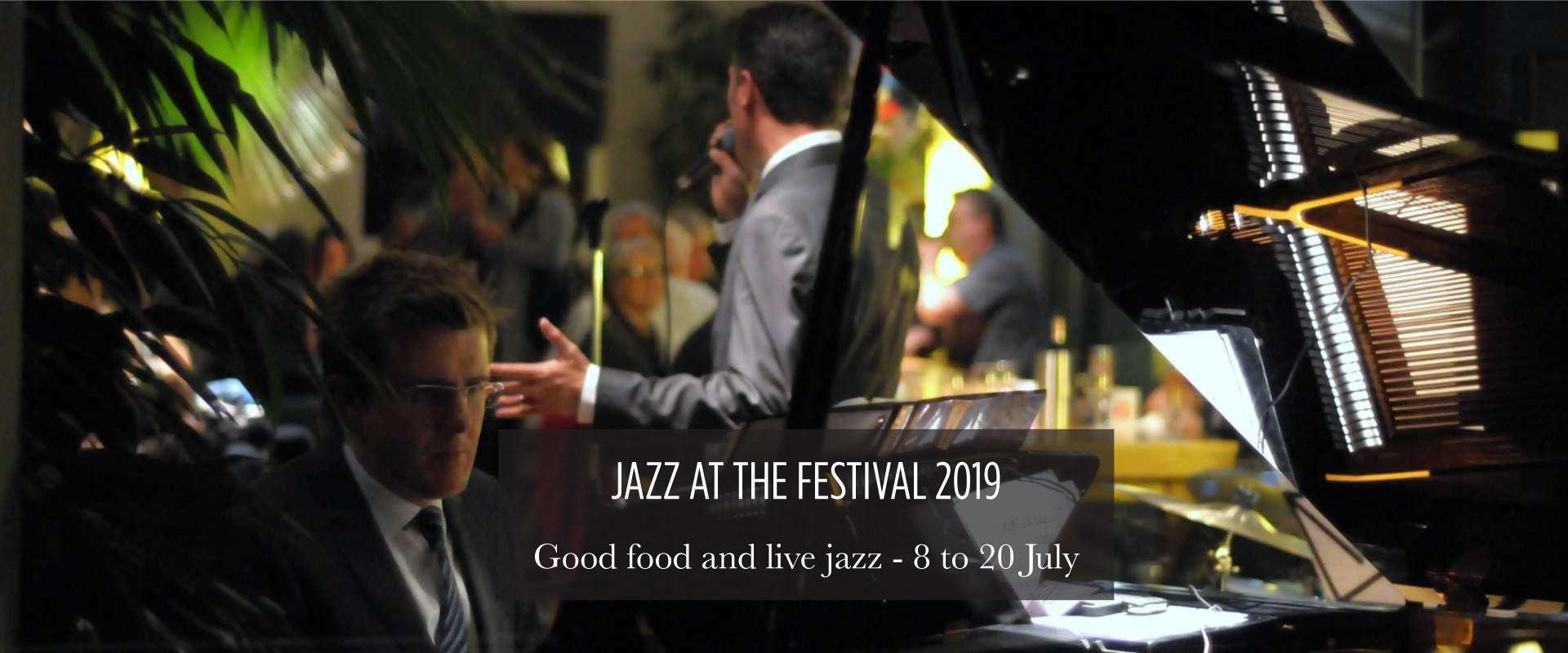 Lussmanns St Albans presents Jazz at the Festival